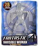 """Fantastic 4 Movie Series II Deluxe 12"""" Figure: Invisible Woman (Clear)"""