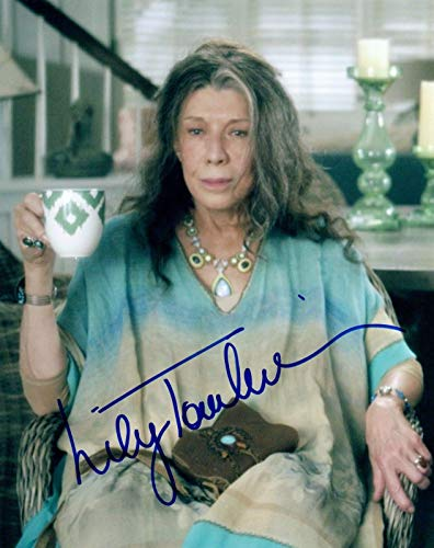 Tomlin Signed Photo - Lily Tomlin Signed Autograph 8x10 Photo GRACE and FRANKIE Actress COA