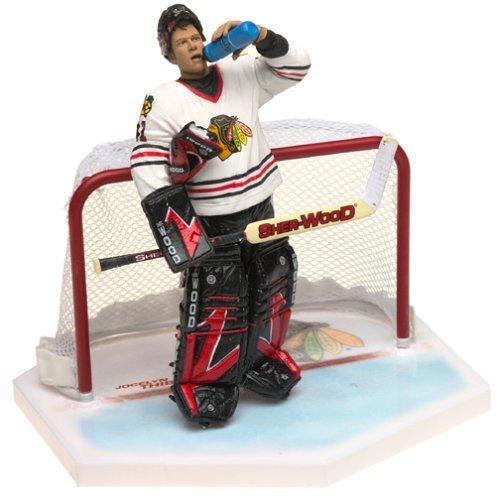 Mcfarlane Nhl Sports Picks - McFarlane Toys NHL Sports Picks Series 4 Action Figure: Jocelyn Thibault (Chicago Blackhawks) Red Jersey VARIANT