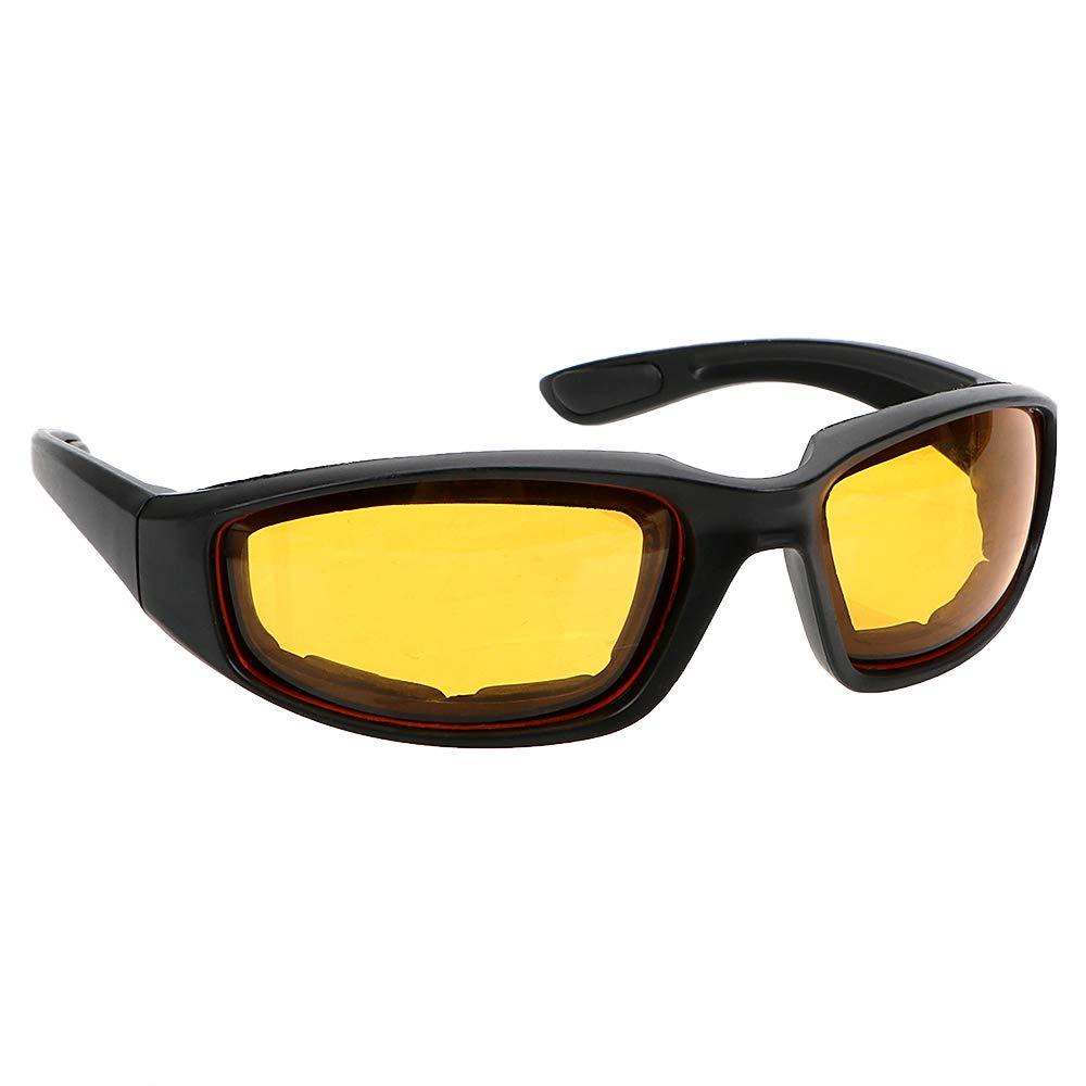 amarillo Gafas de visi/ón nocturna para conductores antideslumbrantes iTimo para motocross visi/ón nocturna gafas de sol protecci/ón UV