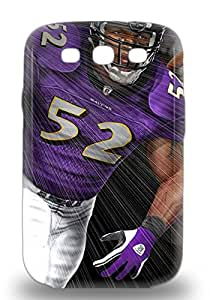 Hot New NFL Baltimore Ravens Ray Lewis #52 Case Cover For Galaxy S3 With Perfect Design ( Custom Picture iPhone 6, iPhone 6 PLUS, iPhone 5, iPhone 5S, iPhone 5C, iPhone 4, iPhone 4S,Galaxy S6,Galaxy S5,Galaxy S4,Galaxy S3,Note 3,iPad Mini-Mini 2,iPad Air )