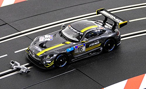 "Carrera 20030767 30767 Mercedes-Amg Gt3 2016 ""No.16 1/32 Digital Slot Car W/ Lights, Gray from Carrera"
