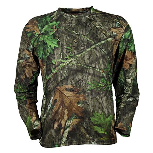 Gamehide Camo (Gamehide ElimiTick Long Sleeve Tech Shirt (Mossy Oak Obsession, L))