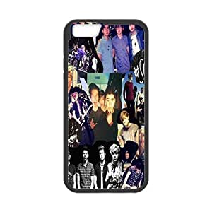 Custom High Quality WUCHAOGUI Phone case 5SOS music band Protective Case For Apple iphone 5 5s,