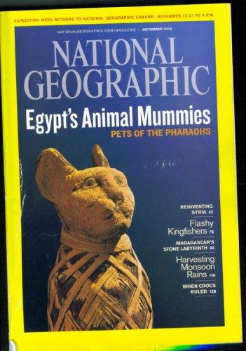 National Geographic: Egypt's Animal Mummies, November 2009, Vol. 216, No. 5 (Mummies Animal)