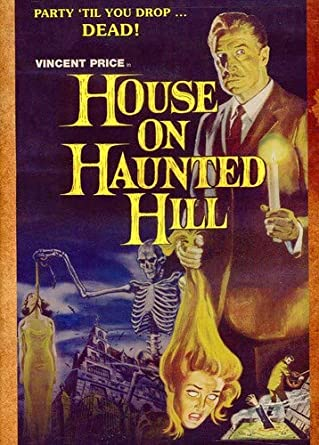 Amazon Com House On Haunted Hill Vincent Price William Castle Movies Tv