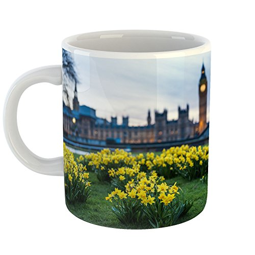 Westlake Art - Coffee Cup Mug - Palace of Westminster - Home Office Birthday Present Gift - 11oz (f30 74b) (You All Westminster About)