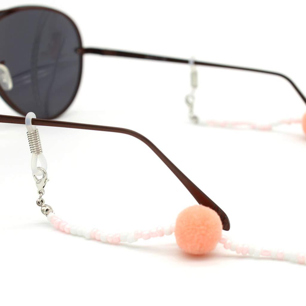 Amazon.com: Simdoc - Soporte de cadena para gafas de lectura ...