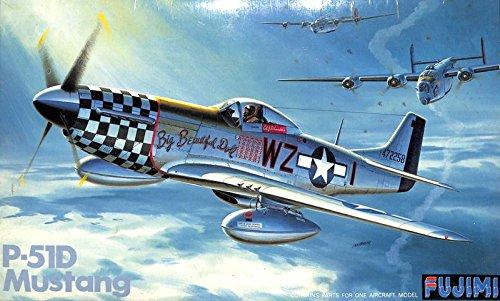 Fujimi 1:48 North American P-51 D Mustang Plastic Aircraft