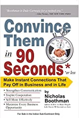 Convince them in 90 seconds or less Capa comum