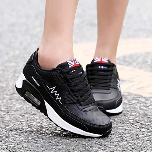 Sneaker Running E Lacci Bianche Casual Fitness Nere Scarpe Rosse Ginnastica Traspiranti Nero Da Sports Donna Sunnywill Verdi Stile Con tg5Fwqy