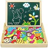 Puzzle Magnetico Niños de Madera Pizarra Magnética Infantil ...