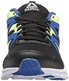 Reebok Baby Run Supreme 2.0 Sneaker, Black/Acid