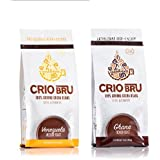 Crio Bru Venezuela + Ghana French Double Pack Herbal Tea Coffee Alternative Substitute 99% Caffeine Free Whole-30 Gluten Free Honest Low Calorie Energy Boost 10 oz - 2 pack
