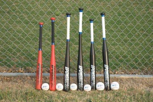 Sportime PowerStar Bat and Ball Combo, 31