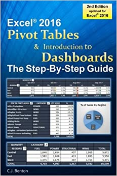 Book Excel Pivot Tables & Introduction To Dashboards The Step-By-Step Guide
