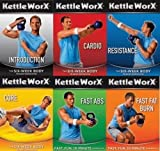 Kettleworx 6 DVD Set with 5 Pound Kettlebell
