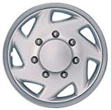 Drive Accessories KT-317-16C/S, Ford, 16'' Chrome Finish Replica Wheel Cover, (Set of 4)