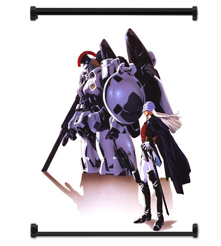 Mobile Suit Gundam Wing Anime Tallgeese Fabric Wall Scroll Poster (16