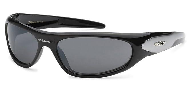 42c9ad34bb5 Amazon.com  X-Loop Men s Crystal Clear Frame Baseball Running Driving  Sports Sunglasses  Sports   Outdoors