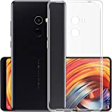 Plus Exclusive Soft Silicone TPU Transparent Clear Case Soft Back Case Cover With Original Packaging Kit For Xiaomi Mi MIX 2