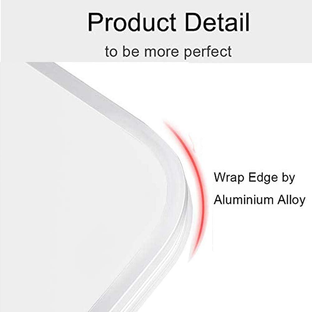 Reggilibri per la Lettura con Bracci in Alluminio e Clip per raccoglitori leggio Libro per Big Hard HardCover Leggio Libri -Altezza e Angolo Regolabili Supporto per Libri ricetta e Laptop iPad