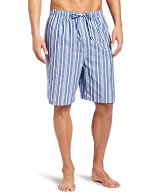 Men's Sultan Stripe Woven Pajama Short