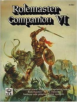 Rolemaster Companion VI by Iron Crown Enterprises (1992-10-02)