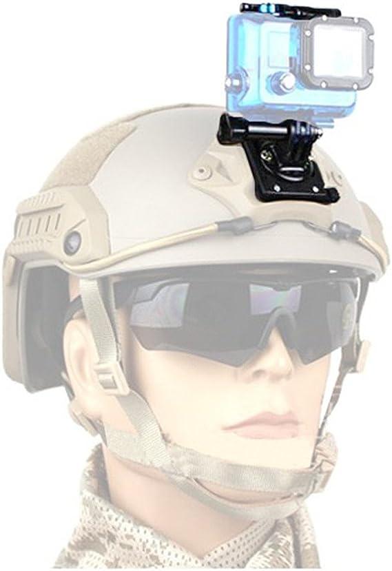 BEST protection Helmhalterung Fast Helm f/ür GoPro