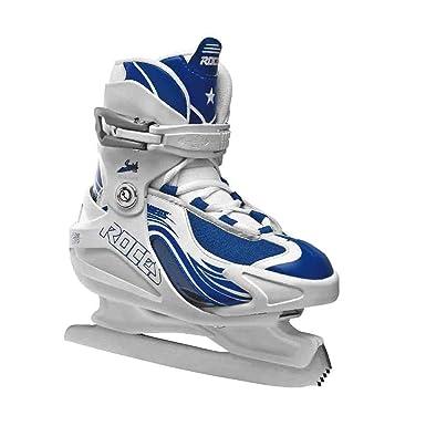 Amazon.com : Roces Girl's Swish Ice Skate Size Adjustable 450630 ...