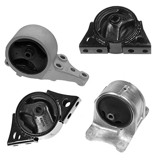 atic Transmission Mounts Kit Set of 4 for 98-01 Altima 2.4L ()