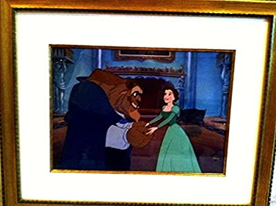 "Disney Beauty And The Beast Cel ""HEARTFELT GIFT Extremely Rare EditionSold-Out"