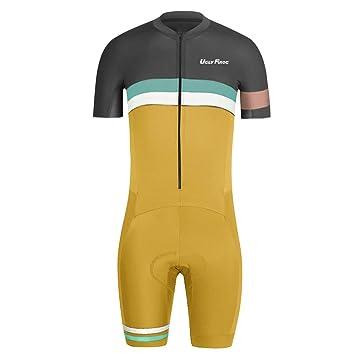 Amazon.com: Uglyfrog diseños para hombre triatlón Tri Suit ...