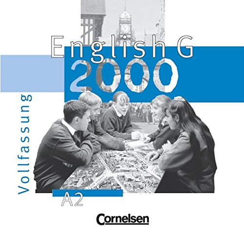 English G 2000, Ausgabe A, 3 Audio-CDs zum Schülerbuch (Vollfassung)