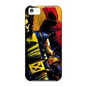 Excellent Hard Phone Cover For Iphone 5c With Provide Private Custom Realistic Deadpool I4 Skin InesWeldon
