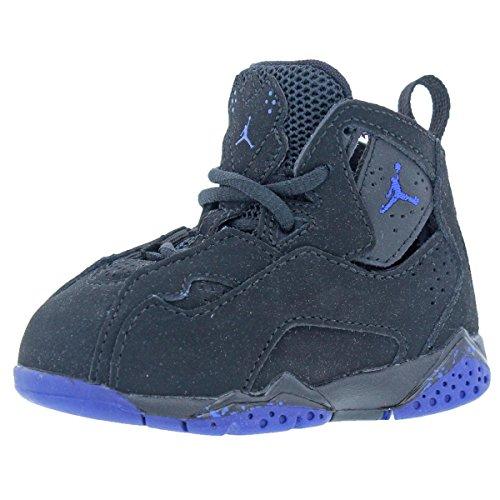 Jordan Boys True Flight BT Toddler Athletic Shoes Black 4 Medium (D) Toddler by Jordan
