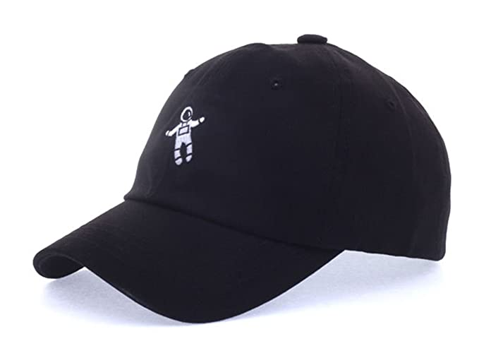 d05f9458ebf Exo Style Xiu Astronaut Baseball Caps Hats Accessories Unisex Mens Womens  Kpop (Black)