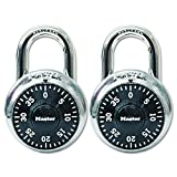 Master Lock 1500T Combination-Alike Padlocks, 16 Pack Contains 2 Locks, 32-Count