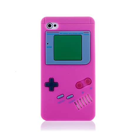 Silica DMK164 - Carcasa Game Boy ip4 - Rosa, Color Rosa ...