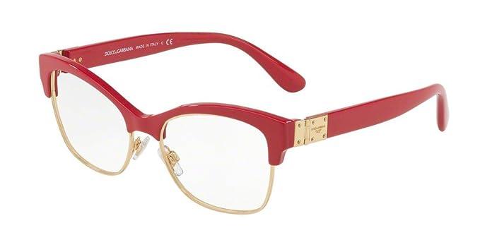Amazon.com: Dolce & Gabbana dg3272 Monturas de anteojos 3097 ...