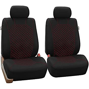 Amazoncom 115303 Tanleather Like 2 Front Car Seat Covers
