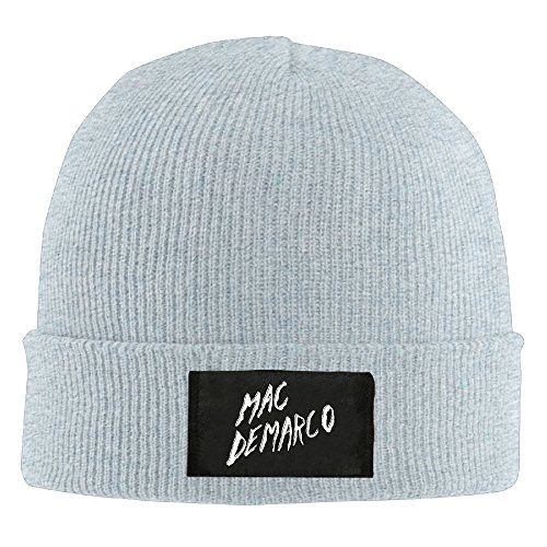 Mac Demarco 2016 Tour Wordart Beanie Hats For Men Women Ash (4 Colors)