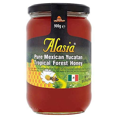 Alasia Mexican Yucatan Tropical Forest Honey (900g) - Pack of 6 by Alasia