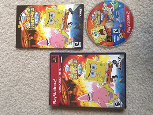 ***SPONGEBOB SQUAREPANTS MOVIE PLAYSTATION 2 PS2 GAME