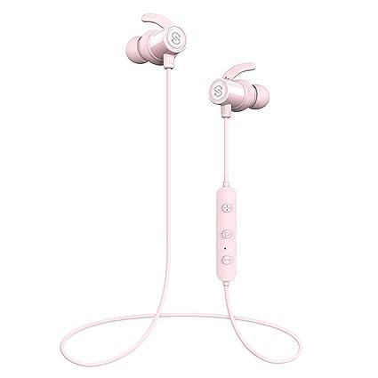 350efe56139 SoundPEATS Magnetic Wireless Earbuds Bluetooth Headphones Sport In-Ear IPX  6 Sweatproof Earphones with Mic