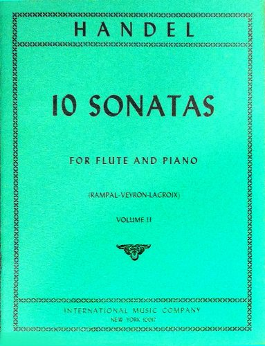 10 Sonatas for Flute & Piano Volume 2