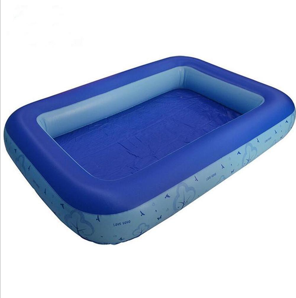 HJXJXJX Multi-size dicken blauen Kinder Ozean Ball Pool