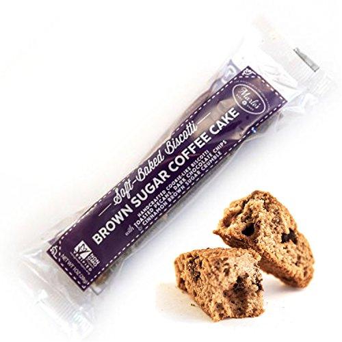 Marlo's Bakeshop Brown Sugar Pecan Coffee Cake Biscotti, Gourmet Cookies, Soy-Free, Dairy-Free, Non-GMO (24 ()