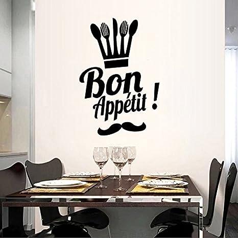 Il francese Buon Appetito Proverbi Cucina Sala da pranzo Camera casa ...