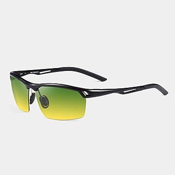 Sonnenbrille Männer, die nachts fahren Anti-Blend Anti-UV-Sonnenbrillen